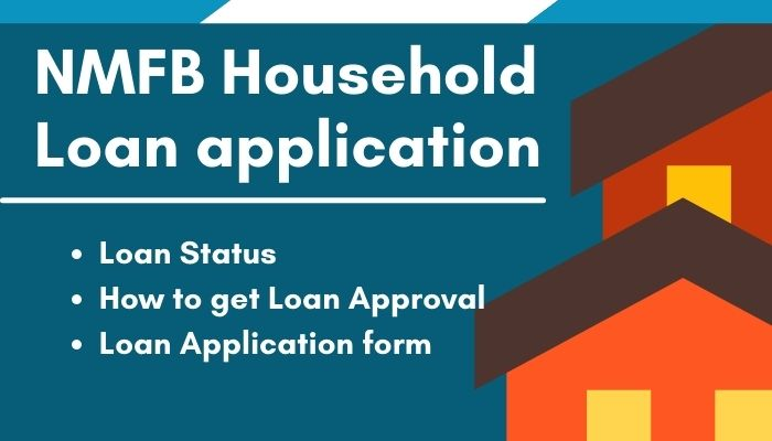 NMFB household loan application form online