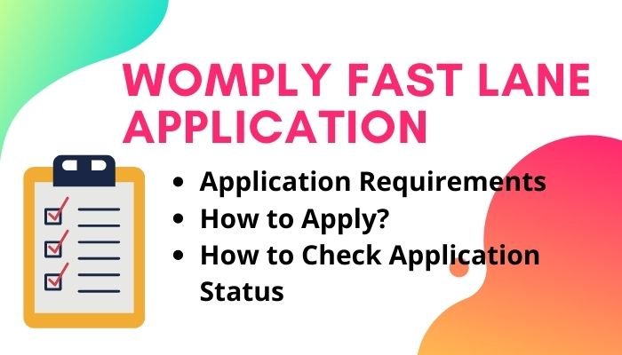 Womply fast lane Application