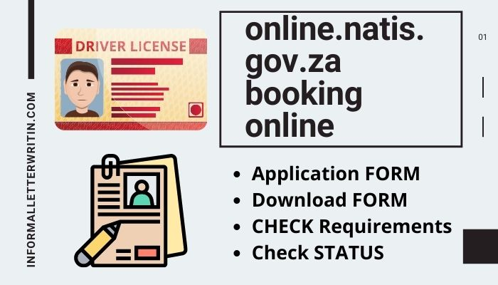 online.natis.gov.za booking online application form