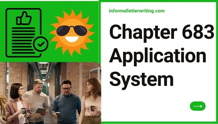 Chapter 683 Application System apply nyc doe